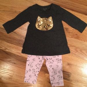 Sequined Kitty Outfit